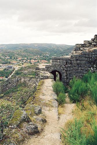 Castro Laboreiro visto do Castelo
